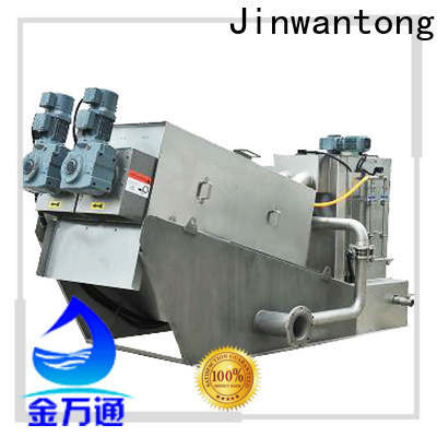 Jinwantong custom sludge dewatering plant with good price for wineries