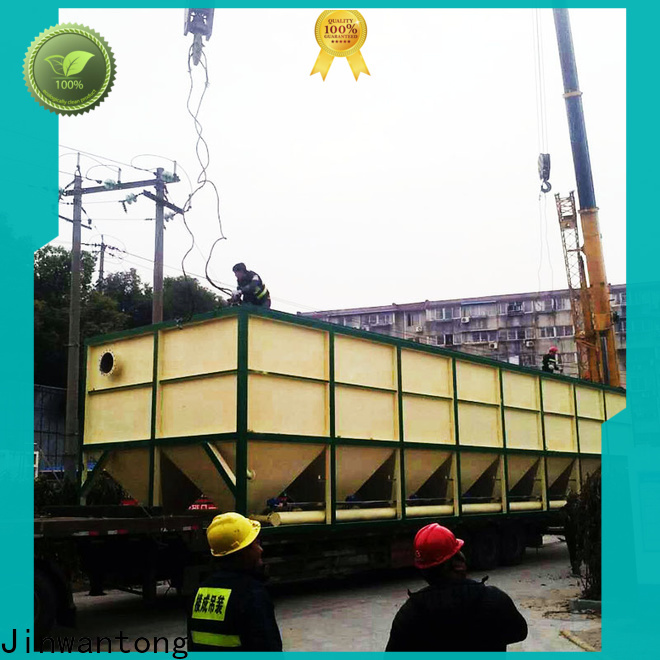 Jinwantong Lamella Clarifier Price company for heavy metal remove