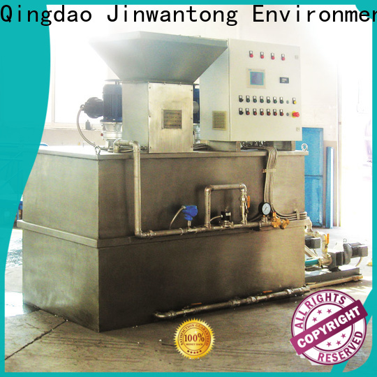 Jinwantong chemical dosing system for water treatment with good price for mix water and chemicals
