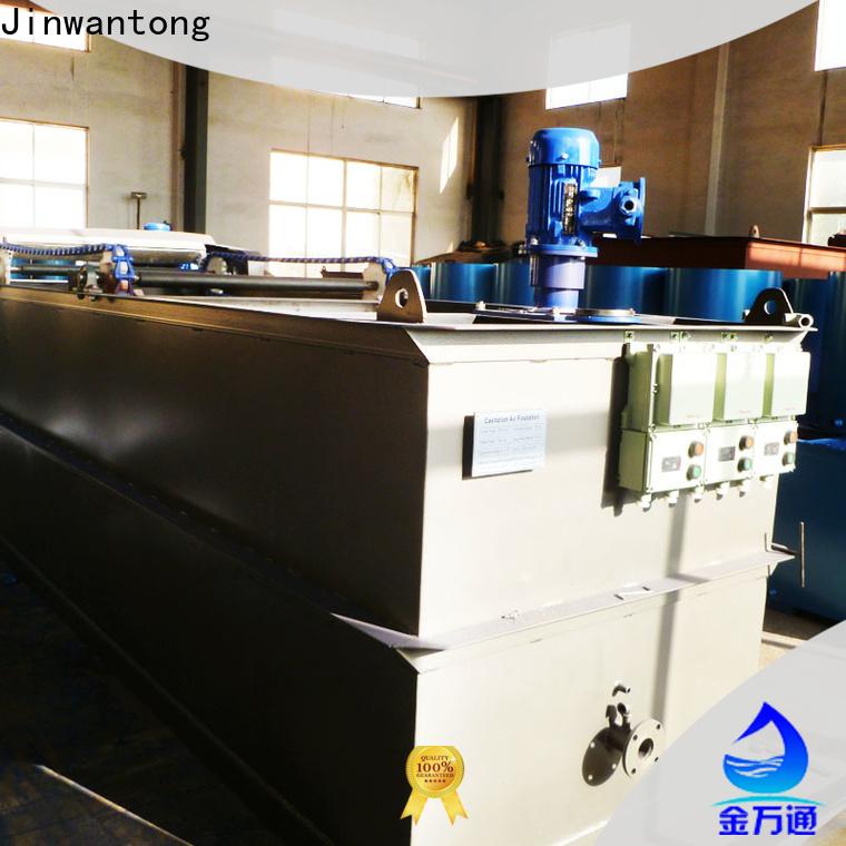Jinwantong custom cavitation air flotation factory wholesale for oil remove