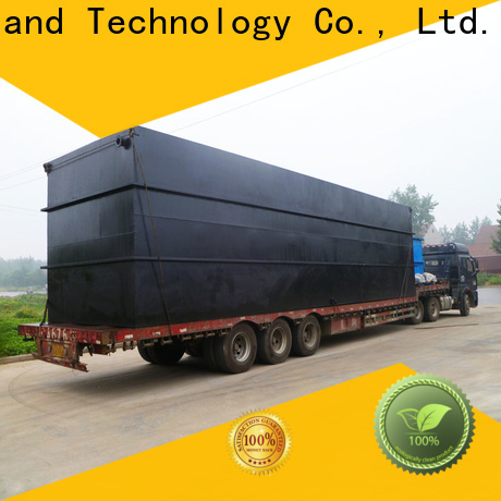 high-quality domestic sewage treatment plant wholesale for hotel