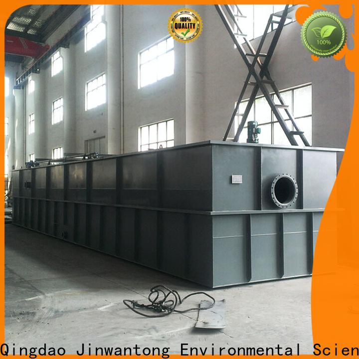 Jinwantong dissolved air flotation price company for slaughterhouse