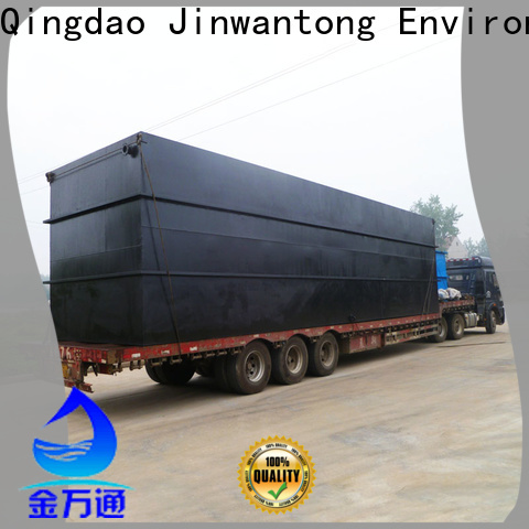 Jinwantong package sewage treatment plant for business for hotel