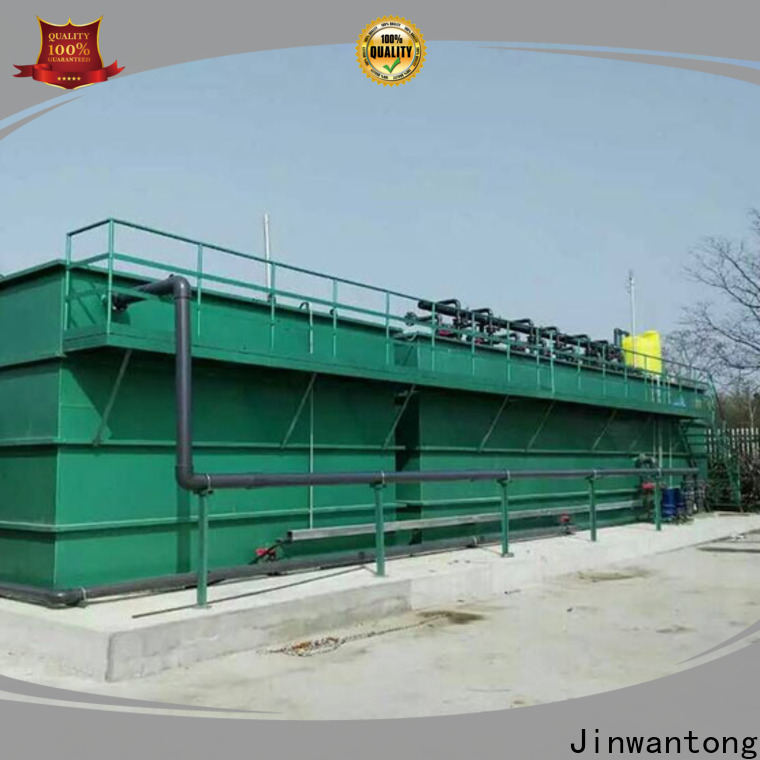 Jinwantong wastewater treatment plant manufacturers directly sale for mining industry