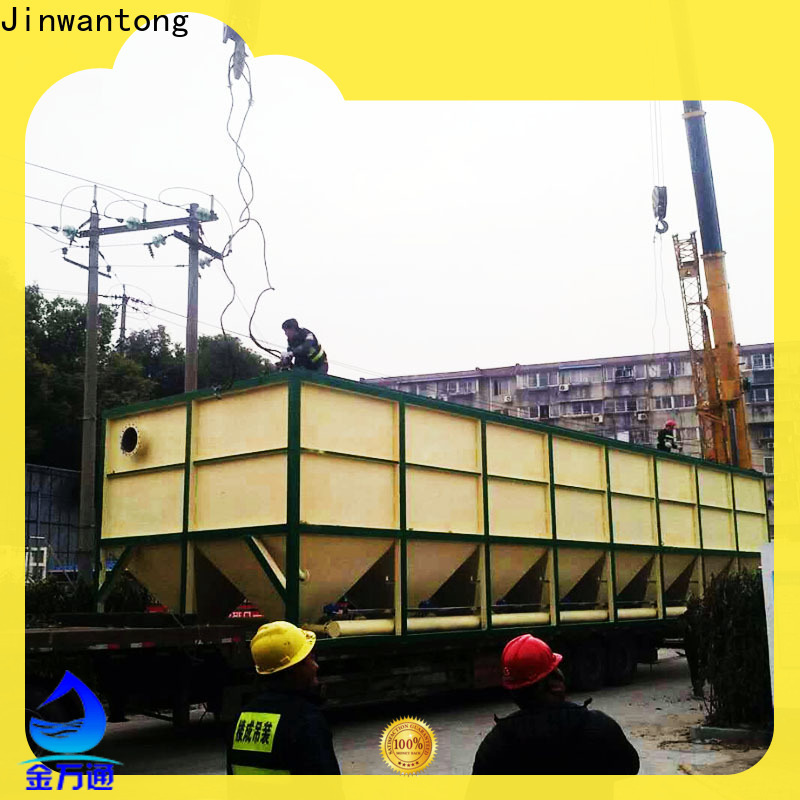 Jinwantong high-quality inclined plate clarifier design from China for heavy metal remove