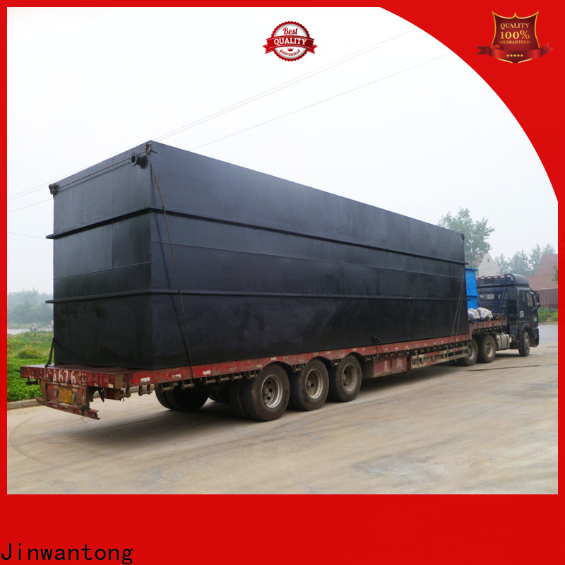 professional best domestic sewage treatment plant company for oilfield labor camp