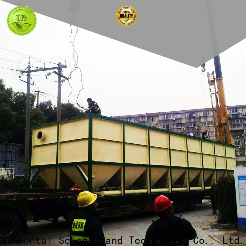 Jinwantong lamella separator factory for heavy metal remove