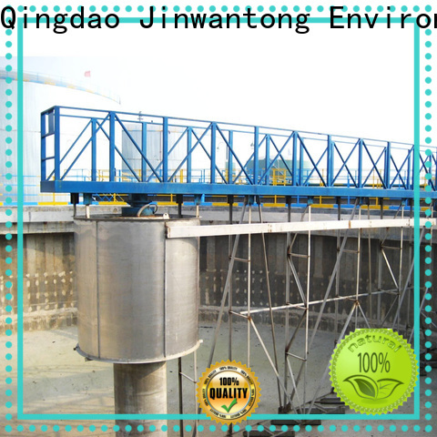 Jinwantong peripheral drive sludge scraper customized for primary clarifier