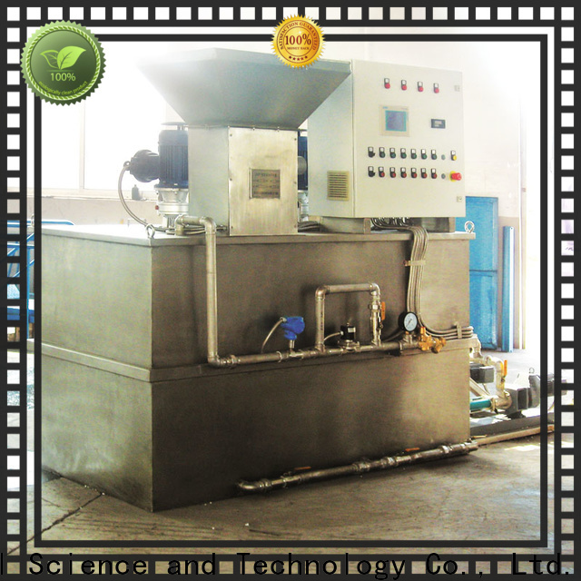 Jinwantong sewage treatment plant chemical dosing for business for mix water and chemicals