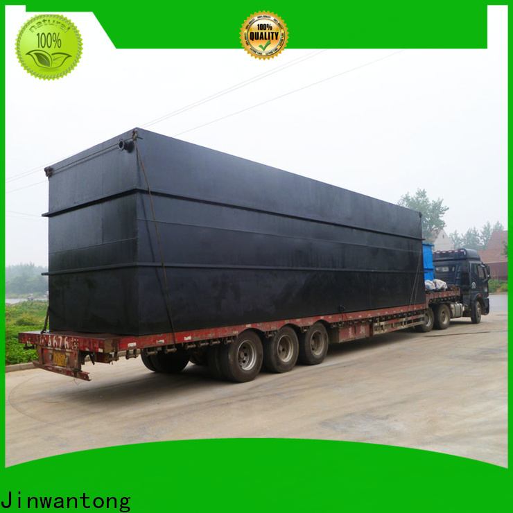 Jinwantong professional small sewage treatment plant wholesale for oilfield labor camp