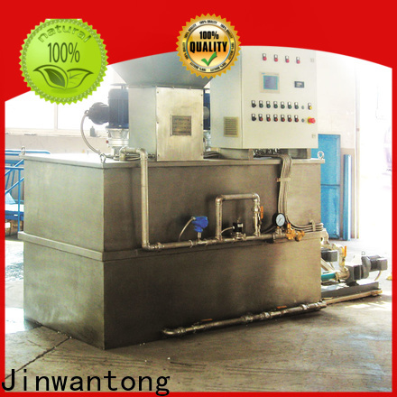 automatic chemical dosing in water treatment plant directly sale for mix water and chemicals