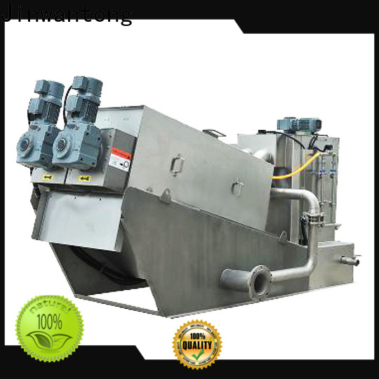 high-quality sludge dehydrator with good price for solid-liquid separation