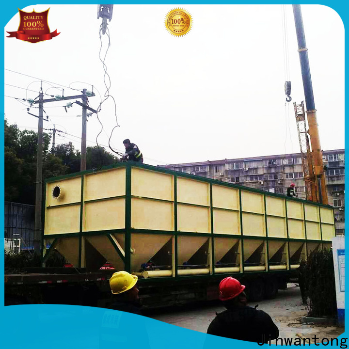 Jinwantong practical inclined plate clarifier design factory price for heavy metal remove