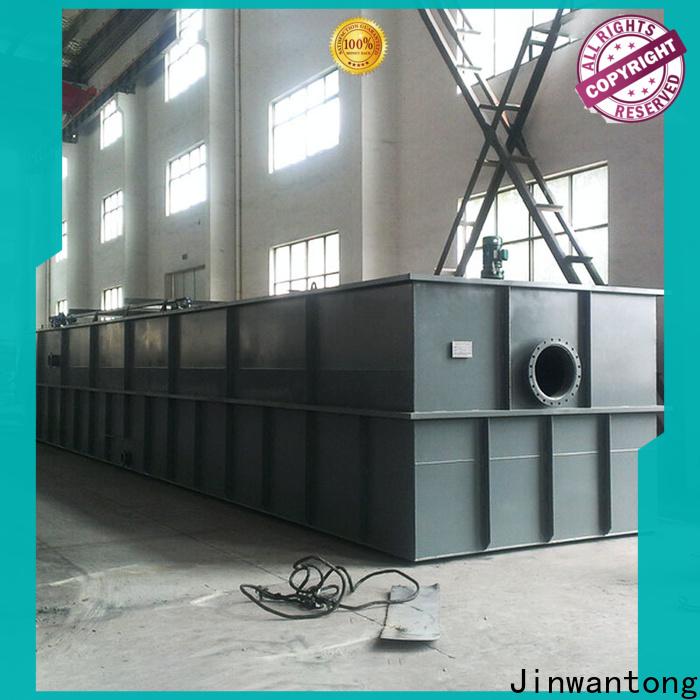 Jinwantong dissolved air flotation water treatment wholesale for slaughterhouse