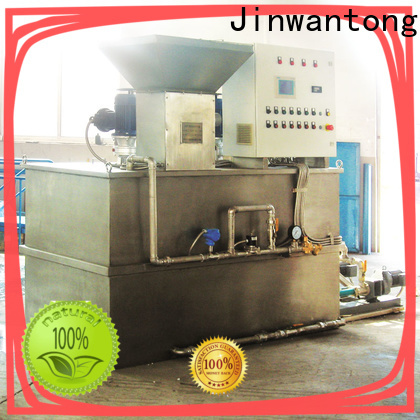 Jinwantong custom sewage treatment plant chemical dosing for business for mix water and chemicals