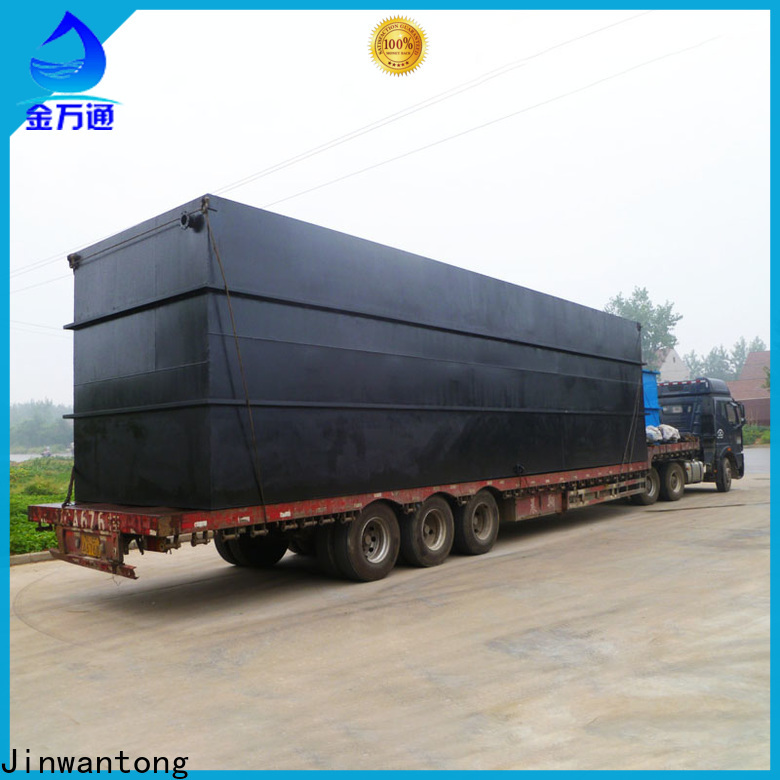 latest best domestic sewage treatment plant directly sale for oilfield labor camp