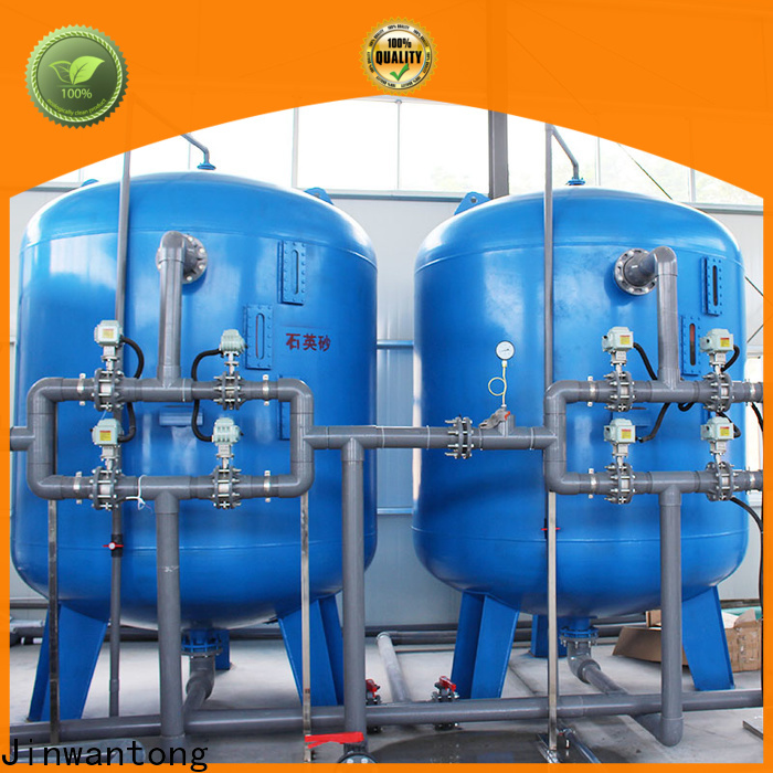 Jinwantong inground sand filter company for alga removal
