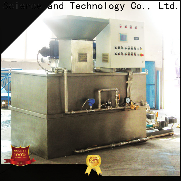 long lasting chemical dosing system water treatment plant company for mix water and chemicals