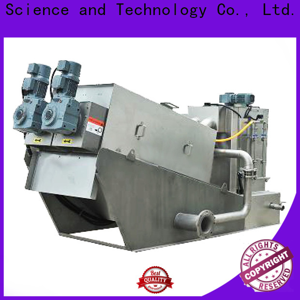efficient screw press dewatering machine wholesale for resource recovery