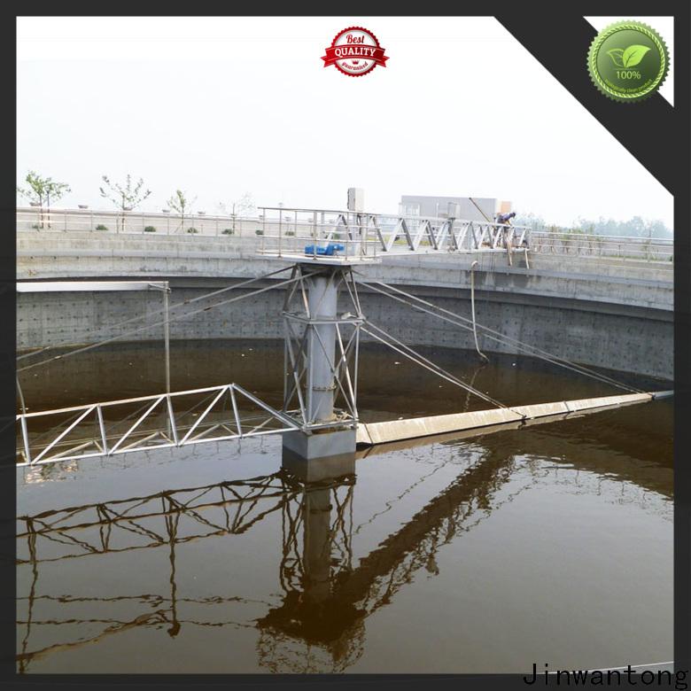 Jinwantong high-quality sludge scraper system supply for final sedimentation tank