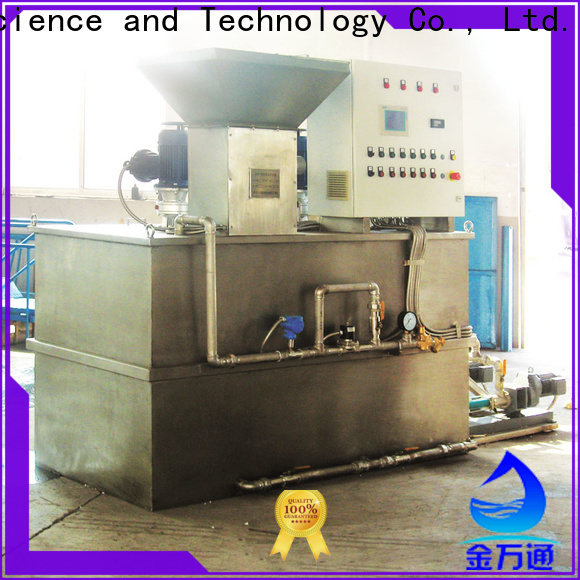 Jinwantong automatic chemical dosing unit wholesale for mix water and chemicals