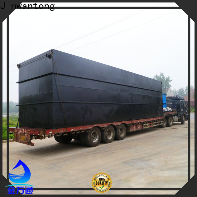 stable effluent treatment plant wholesale for oilfield labor camp