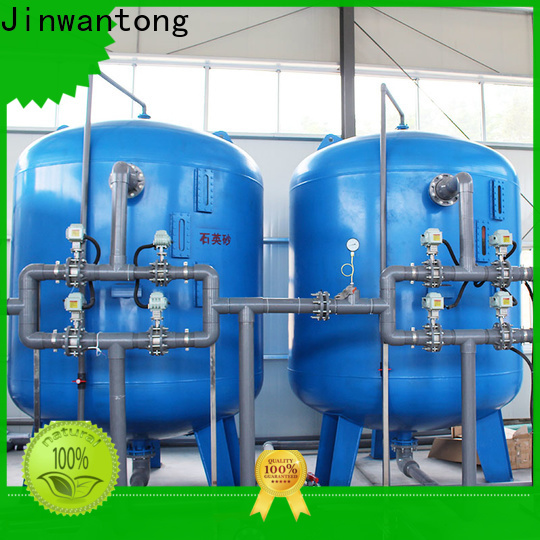 Jinwantong sand filter company for ground water purification