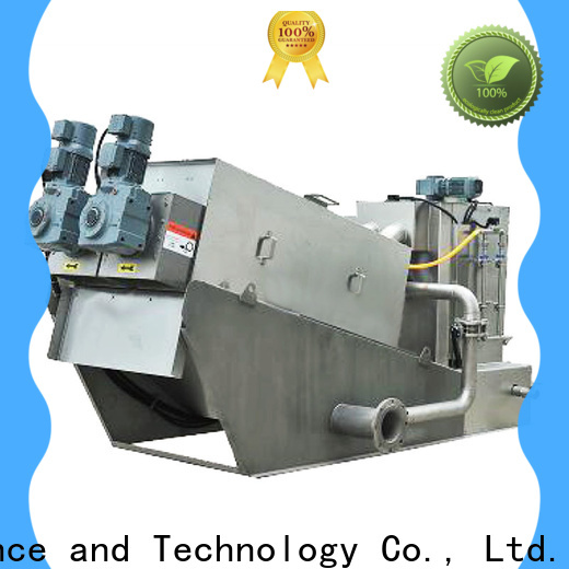 cost-effective sludge dewatering equipment wastewater manufacturers for resource recovery