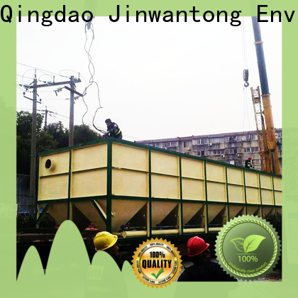 Jinwantong inclined plate settler design directly sale for food industry