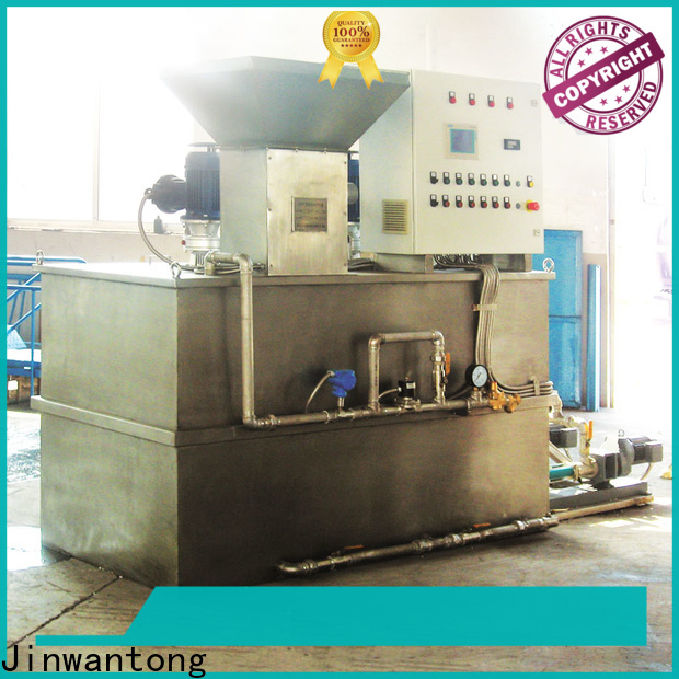 Jinwantong chemical dosing equipment company for powdered and liquid chemicals