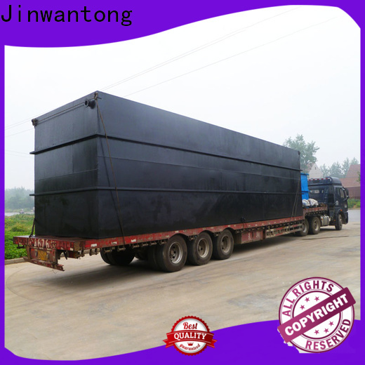 Jinwantong sewage treatment plant with good price for hospital