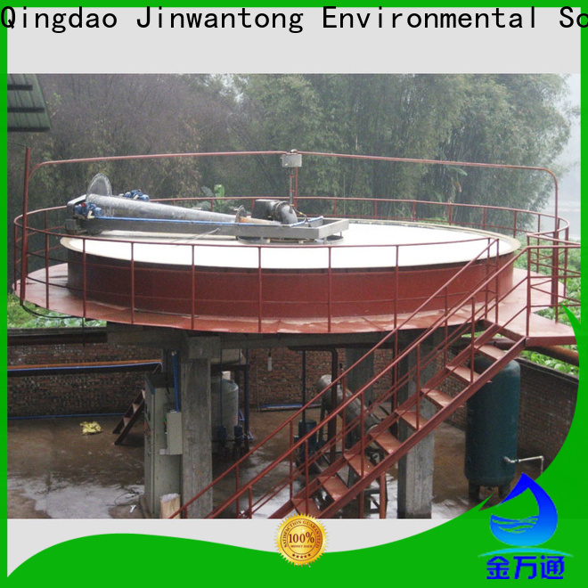 Jinwantong best industrial wastewater treatment companies company for fiber recovery