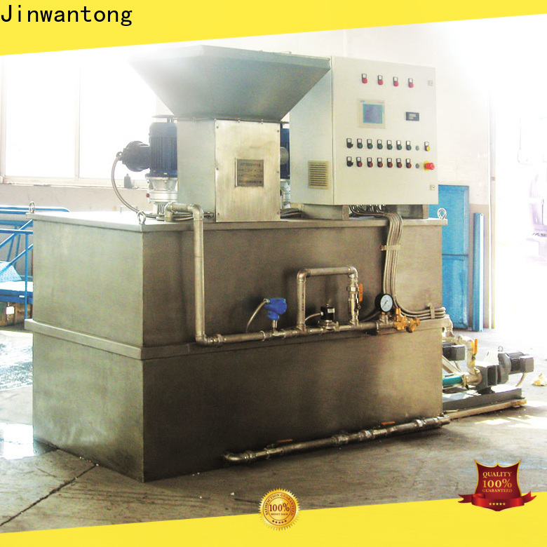 automatic flocculant dosing system suppliers for powdered and liquid chemicals