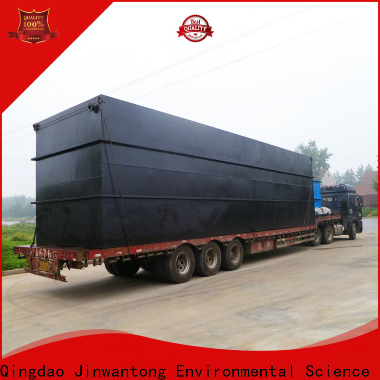 Jinwantong sewage treatment wholesale for oilfield labor camp