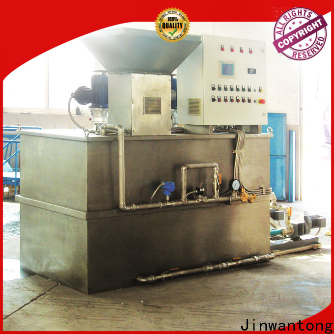 long lasting chemical dosing system water treatment plant for business for powdered and liquid chemicals
