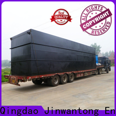 Jinwantong package sewage treatment plant suppliers wholesale for oilfield labor camp