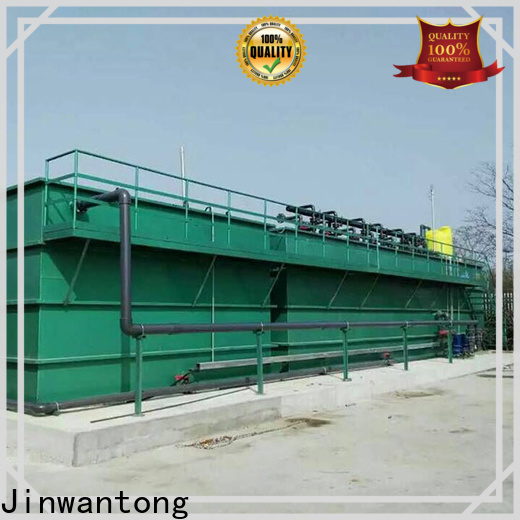 Jinwantong mbr wastewater treatment plant customized for paper industry