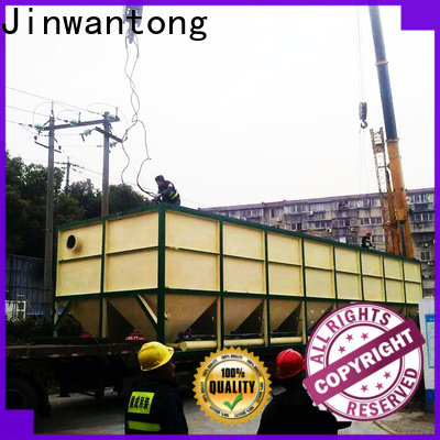 Jinwantong inclined plate settler factory for heavy metal remove