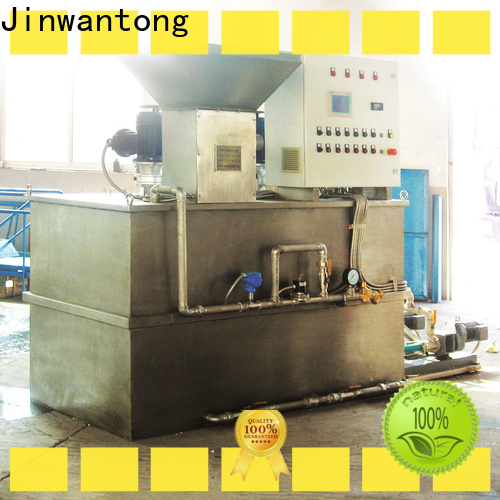 Jinwantong custom chemical dosing directly sale for powdered and liquid chemicals