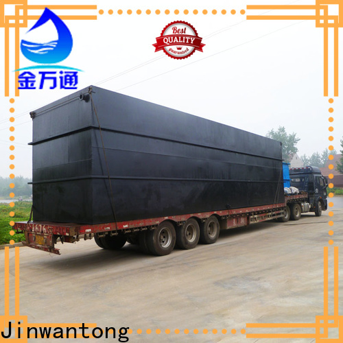 Jinwantong package sewage treatment plant directly sale for hotel