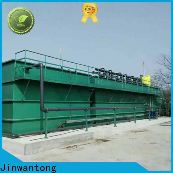 Jinwantong New mbr technology for wastewater treatment manufacturers for food industry
