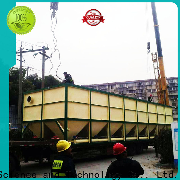 Jinwantong lamella settler design supply for heavy metal remove