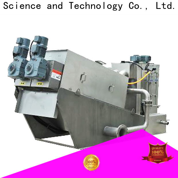 Jinwantong top sludge dewatering machine manufacturers for resource recovery