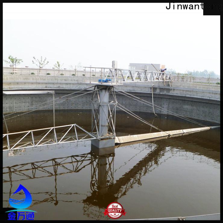 Jinwantong light weight circular clarifier supply for final sedimentation tank