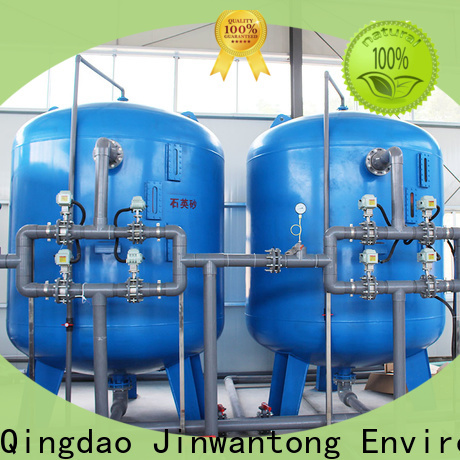 Jinwantong sand filter system factory for grit removal