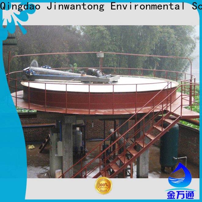 Jinwantong dissolved air flotation for water clarification supply for secondary clarification