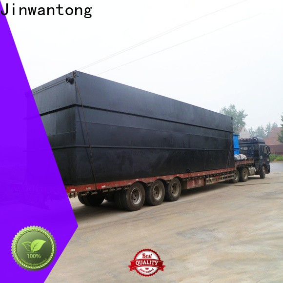 custom package wastewater treatment plant manufacturer wholesale for oilfield labor camp