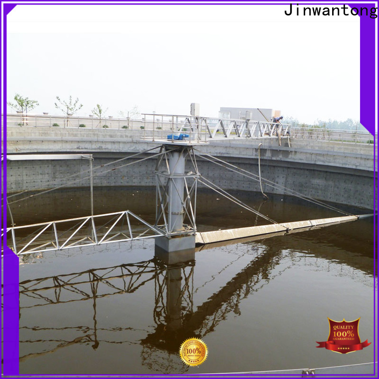 Jinwantong high strength half bridge scrapers for business for primary clarifier