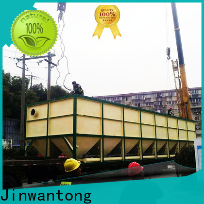 Jinwantong New inclined plate settler factory price for heavy metal remove