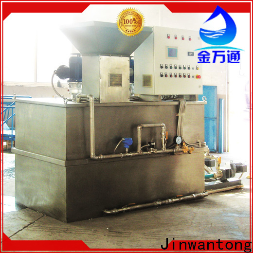 Jinwantong New skid mounted chemical dosing system suppliers for powdered and liquid chemicals